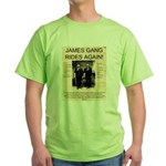 The James Gang Green T-Shirt