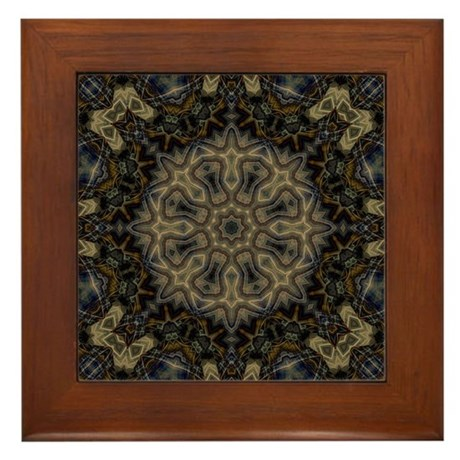 Mystique Elements Framed Tile