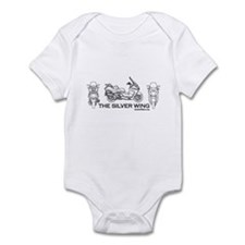 The Silver Wing Infant Bodysuit