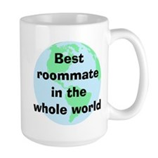 BW Roommate Coffee Mug