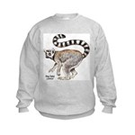 Ring-Tailed Lemur (Front) Kids Sweatshirt