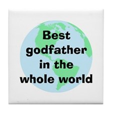 BW Godfather Tile Coaster