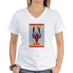 MudBug Madness No. 2 Women's V-Neck T-Shirt