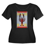 MudBug Madness No. 2 Women's Plus Size Scoop Neck 