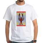 MudBug Madness No. 2 White T-Shirt
