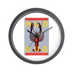 MudBug Madness No. 2 Wall Clock