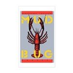 MudBug Madness No. 2 Rectangle Sticker