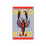 MudBug Madness No. 2 Rectangle Sticker 50 pk)