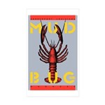 MudBug Madness No. 2 Rectangle Sticker 10 pk)