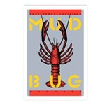 MudBug Madness No. 2 Postcards (Package of 8)