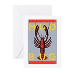 MudBug Madness No. 2 Greeting Cards (Pk of 20)