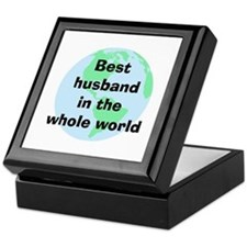 BW Husband Keepsake Box