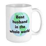 BW Husband Mug