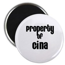 Property of Gina Magnet