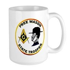 Masonic State Trooper Mug