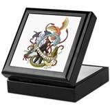 I Heart Cryptozoology Keepsake Box