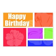 Happy Brithday Postcards (Package of 8)