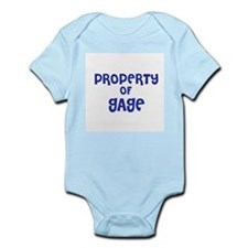 Property of Gage Infant Creeper