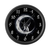 Amaris Moon Faerie Large Wall Clock