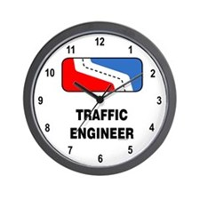 Traffic Engineer Wall Clock