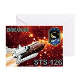 Mission Poster STS 126 Greeting Cards 8 pk.