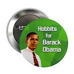 Hobbits for Barack Obama button