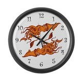 CALAMARI Large Wall Clock