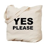 Say Please With This Tote Bag
