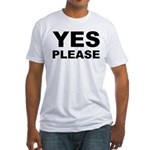 Say Please With This Fitted T-Shirt