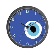 EVIL EYE PROTECTION Wall Clock