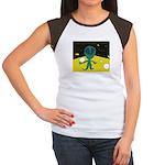 Piper's Alien Women's Cap Sleeve T-Shirt