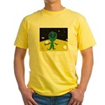 Piper's Alien Yellow T-Shirt