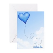 Something Blue Wedding Greeting Cards (Package of