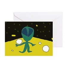 Piper's Alien Greeting Cards (Pk of 10)