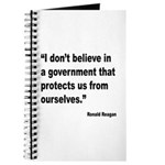 Reagan Government Quote Journal
