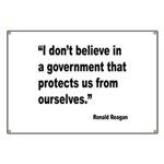 Reagan Government Quote Banner