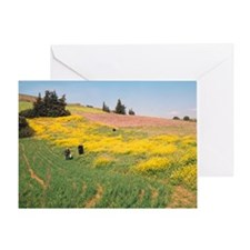 Unique Monasticism Greeting Card