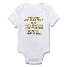 Psalm 133:1 Infant Bodysuit
