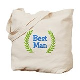 Best Man (ferns) Tote Bag