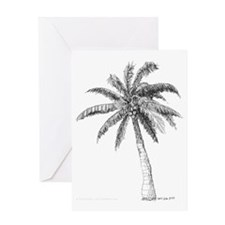 'Lone Palm' Greeting Card