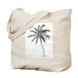 'Lone Palm' Tote Bag