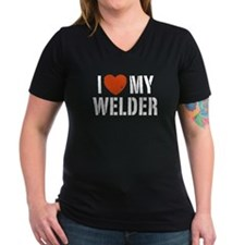I Love My Welder Shirt