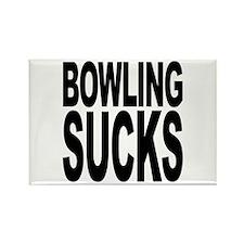 Bowling Sucks Rectangle Magnet (10 pack)