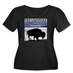 Bison Yellowstone National Pa Women's Plus Size Sc