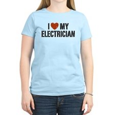 I Love My Electrician T-Shirt