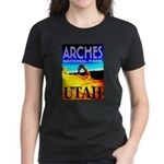 Arches National Park, Utah Women's Dark T-Shirt