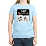 Bleed Red & Black Women's Light T-Shirt