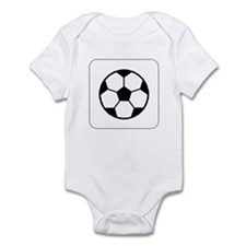 Soccer Ball Icon Infant Creeper