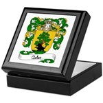 Colas Family Crest Keepsake Box