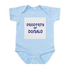 Property of Donald Infant Creeper